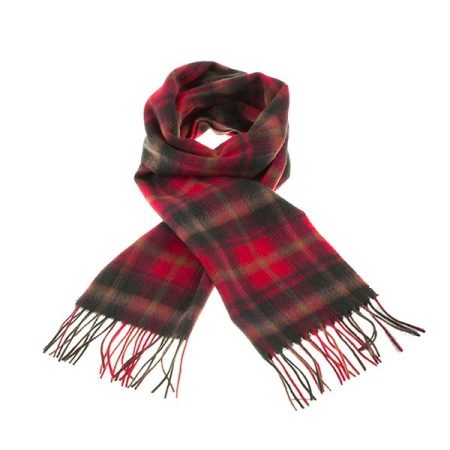 Featured Dark Maple Lambswool Scarf