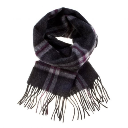 Thompson Charcoal Lambswool Scarf