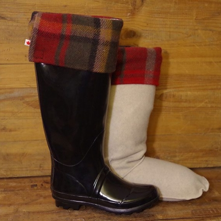 Made In Canada Dark Maple Deluxe Boot Sock