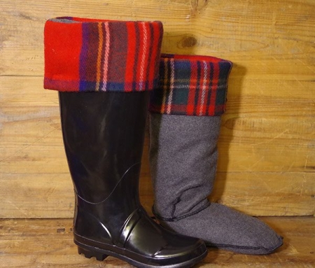 Made In Canada Royal Stewart Deluxe Boot Socks