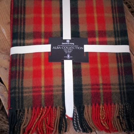 Blankets Highland Collection – Whisky Wool Blanket