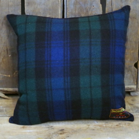 Cushions Black Watch Deluxe Fine Merino Wool Cushion with Zipper
