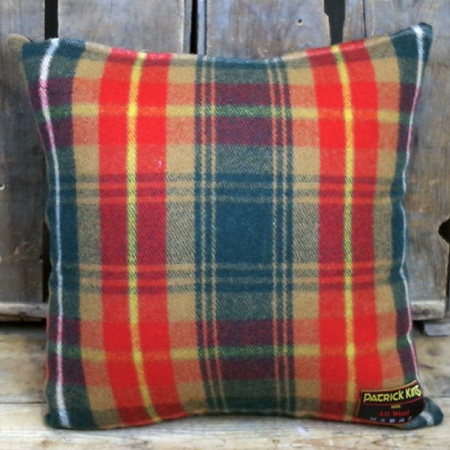 Cushions Whisky Deluxe Fine Merino Wool Cushion with Zipper