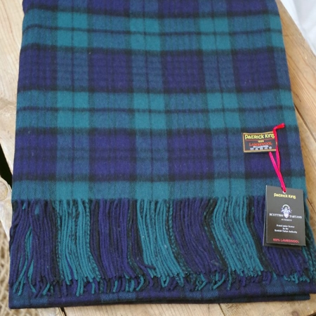 Black Watch Lambswool Blanket