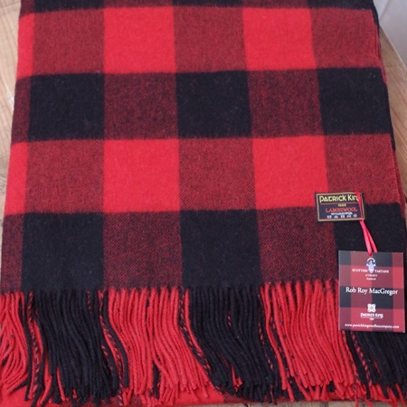 100-lambswool-blanket Rob Roy Lambswool Blanket