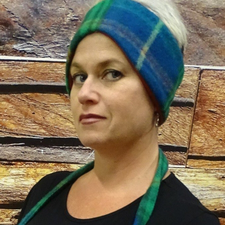 Headband Wool Nova Scotia Tartan Merino Wool Headband