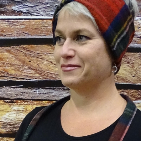 Headband Wool Royal Stewart Tartan Merino Wool Headband