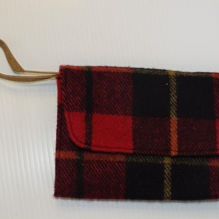 Laurel Deluxe Clutch Wallace Tartan Deluxe Wool Laurel Clutch Purse