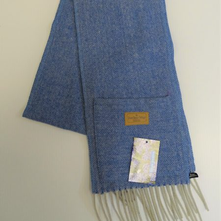 Herringbone Pocket Scarf Herringbone Forget Me Knot pocket scarf