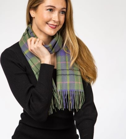 lambswool Scarves Taylor Ancient Tartan Lambswool Scarf
