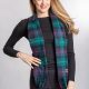 Capes One World Together Tartan Lambswool Cape