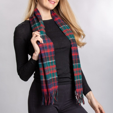 lambswool Scarves MacDonald of Clan Ranald Tartan Lambswool Scarf